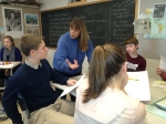 Hanover High School history teacher Pam Miller teaches students to see Thanksgiving from several cultural viewpoints.