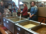 MoCo organizers recently held a free soup lunch to raise awareness about the downtown coop project.
