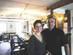 Dominic and Molly Francis have owned the Shoreham Inn for 10 years. Last year they put it on the market.