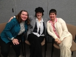 Juanita Paynter, Kathleen Martin-Bonhaus, and Theresa Hoisington, veterans, reminisce about military service. All three now work or volunteer at the new Comprehensive Care Center for Women at the VA Hospital in White River Junction.