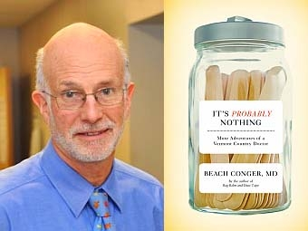 Local doctor and author Beach Conger has just published his third book, ...