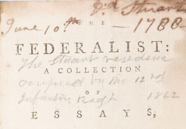 federalist papers and question The federalist papers were originally newspaper essays written by alexander hamilton, james madison, and john jay under the pseudonym publius, whose immediate goal was to persuade the people of new york to ratify the constitution.