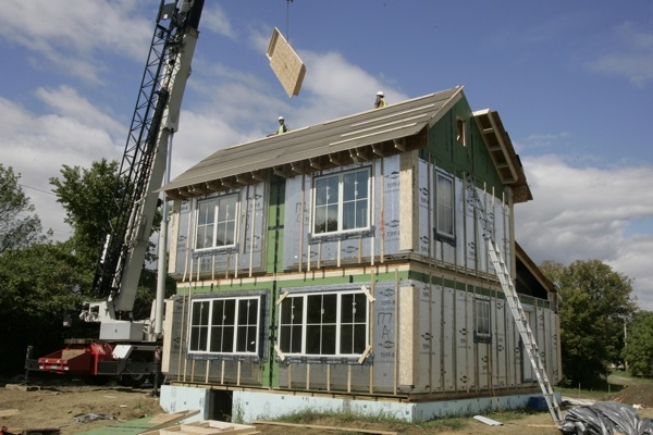 """vpr: new home uses """"passive house"""" technology"""