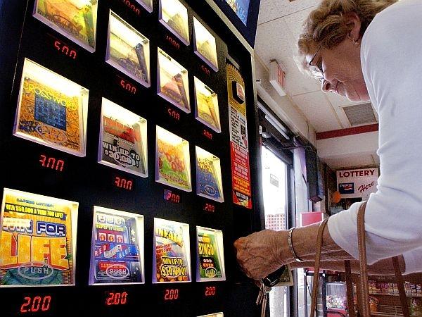 lottery vending machine locations