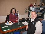 Matt Haimovitz in the VPR Studio with Walter Parker.